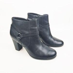 Cole Haan Black Booties Zip Up Size 9.5 B